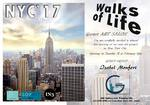 FEBRERO 2017.-ARTISTA INVITADA en  NEW YORK CITY. Walks of life. GOYART ART SALOM. Tuesdaay 21st Feebruary. JMC Gallery and Framing INC. 674 9 TH AVE2nd floor NEW YORK 10036 EEUU