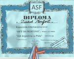 "AGOSTO 2017.-Sala PALACIO FRANCISCO LOPEZ MERINO. Organiza: ""Arte sin fronteras Argentina La Plata"" LA PLATA - ARGENTINA"