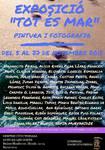 """NOVIEMBRE 2018.- """" TOT ES MAR"""" ARTE SIN FROTERAS  Centre Civic Tomasa Cuevas.  C/ Dolors Masferrer i Boch 33- -35.    LES CORTS -  BARCELONA  ."""