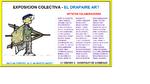FEBRERO 2017.- DRAPAIRE ART. Del 11 de Febrero al 11 de Marzo. C/ Oriente .Inauguración 9 de Febrero. HOPITALET DEL LLOBREGAT - BARCELONA