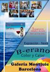 """JULIO  2017.-"""" ESPECIAL VERANO """"Sala de Exposiciones: Montjuic –Barcelona.  De  1 al 8 de Julio 2017. Colaboración y producción de GOYART  BARCELONA"""