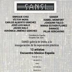 """ABRIL 2018.- 5º """" ENCUENTRO 12 ARTISTAS MÉXICO - ESPAÑA"""" del"""" 1º ENCUENTRO IBEROAMERICANO DE ARTE MÉXICO – ESPAÑA""""  GALERIA SANSI  Del 26de Abril  al 7 de Mayo 2018. Con la gran colaboración de: GOYART internaciona, lWAG ( WORD ART GAMES) SPAIN, Revista T"""