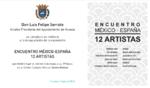"""MAYO 2018.- 6º """" ENCUENTRO 12 ARTISTAS MÉXICO - ESPAÑA"""" del"""" 1º ENCUENTRO IBEROAMERICANO DE ARTE MÉXICO – ESPAÑA""""  CENTRO CULTURAL MANUEL BENITOMOLINER . Del 4 al 20 de Mayo 2018. con la presencia del Sr. D. Luis Felipe Serrate, Alcalde Presidente del Ayu"""