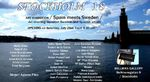 JULIO 2018.- GallerI BELLMAN / Söderman Exposición Internacional colectiva.Bellmansgastan 9 Curaduria Gorgonio Sanjuán. colabora Alicia Larsson                              ESTOCOLMO- SUECIA