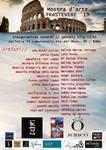 """ENERO 2019.- """" MOSTRA D ´ART TRASTEVERE 2019  Galleria Il Laboratorio  Via el Moro 49  ROMA"""