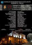 """DICIEMBRE 2019.- """"Diagolo entre pueblos y culturas""""Castillo de RACALMUTO. SICILIA    Del 21 de Diciembre 2019 al 30 de Enero de 2020 Salas del Castillo Chiaramontano de Racalmuto.    (Agrigento) SICILIA - ITALIA"""