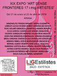 ENERO 2019.- XIX EDICIÓN LGESTILISTES   ARTE SIN FRONTERAS  C/ Casanova 16. Promociona    BARCELONA