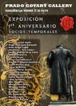 """MAYO 2019.- """"1 ANIVERSARIO PRADO YOYART GALLERY  Prado Goyart Gallery  C/ Felipe IV, 5  MADRID"""